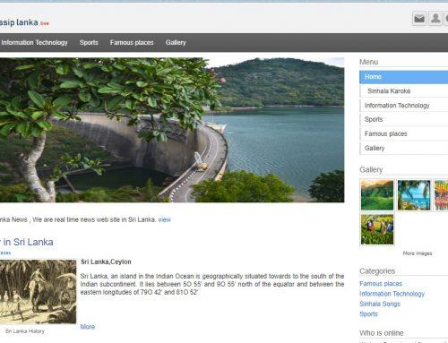 A News Website